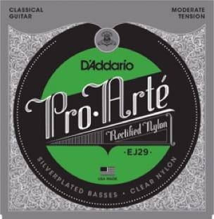 Cordes pour Guitare Classique - ADDARIO PRO ARTE String Set - Moderate / Rectified-Silver Plated - Accessoire - di-arezzo.com
