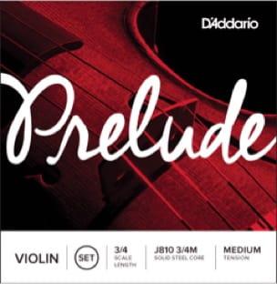 Jeu de cordes Prélude pour Violon 3/4, Tirant Moyen - laflutedepan.com