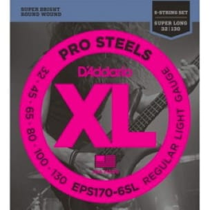 Cordes pour Guitare - D'Addario EPS170-6SL Pro 6 Strings Super Long Scale Regular Light G String S - Accessoire - di-arezzo.co.uk