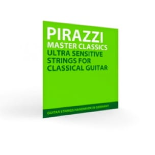 Jeu cordes guitare nylon/argent Master Classic - laflutedepan.com