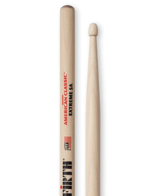 Baguettes Vic Firth American Classic Hickory 5A Extreme - laflutedepan.com