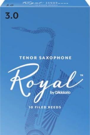 D'Addario Rico Royal - Anches Saxophone Ténor 3.0 - laflutedepan.com