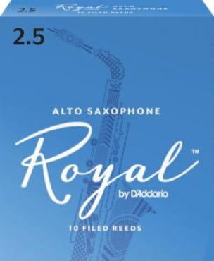 Anches pour Saxophone Alto - D'Addario Rico Royal - Alto Saxophone Reeds 2.5 - Accessoire - di-arezzo.com