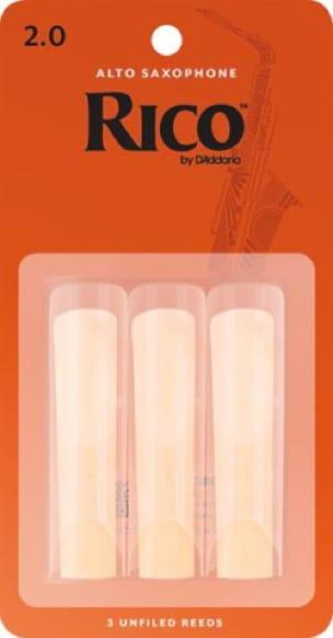 Anches pour Saxophone Alto - D'Addario Rico Alto Alto Saxophone Reeds - Accessoire - di-arezzo.com