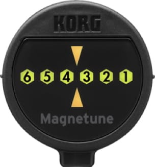 Accordeur pour Guitare - Korg MG1 Magnetic Guitar and Bass Tuner - Accessoire - di-arezzo.co.uk
