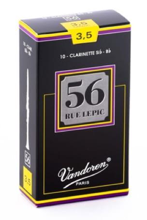 Anches pour Clarinette Sib VANDOREN® - Vandoren CR5035 - Anches LEPIC Clarinette Si bémol 3.5 - Accessoire - di-arezzo.fr