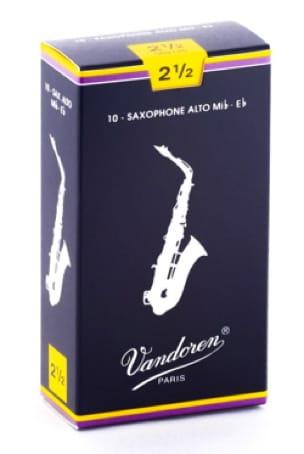 Anches pour Saxophone Alto VANDOREN® - Vandoren SR2125 - Ance per sassofono contralto 2.5 - Accessoire - di-arezzo.it