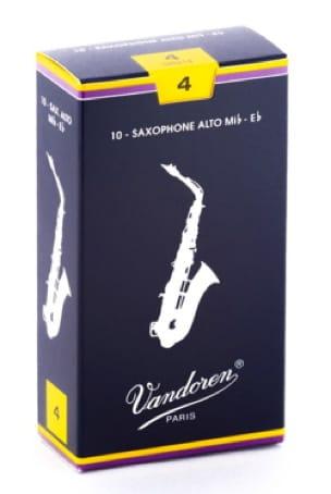 Anches pour Saxophone Alto VANDOREN® - Vandoren SR214 - Cañas de saxofón alto 4.0 - Accessoire - di-arezzo.es