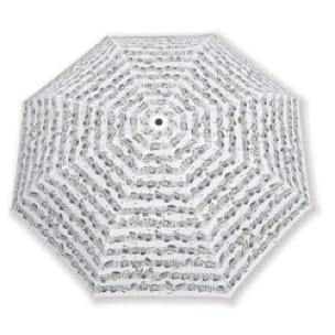 Cadeaux - Musique - Small Umbrella WHITE - Black Music Notes - Accessoire - di-arezzo.co.uk