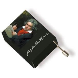 Boîte à musique Beethoven - Ode à la joie - laflutedepan.com