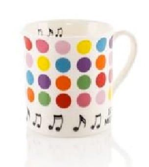 Cadeaux - Musique - Mug - Dotted cup - Accessoire - di-arezzo.co.uk