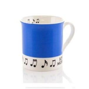 Mug - Tasse Bleue Love music - Cadeaux - Musique - laflutedepan.com