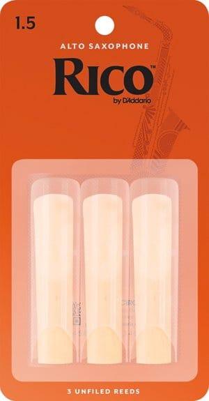 Anches pour Saxophone Alto - D'Addario Rico - Alto Saxophone Reeds 1.5 - Accessoire - di-arezzo.com