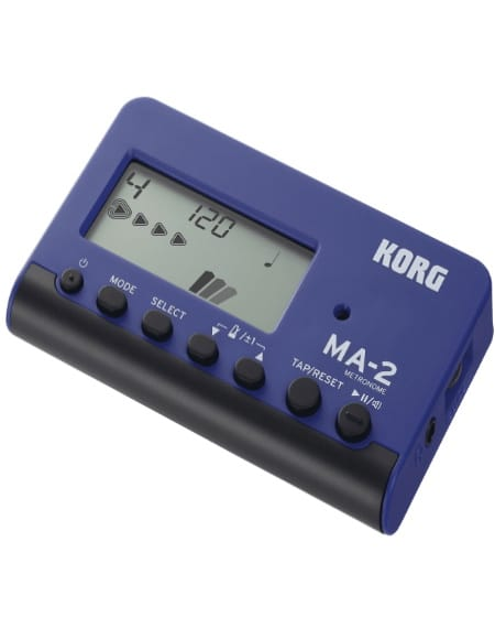 Métronome Electronique - KORG Metronome - MA-2 Blue and Black - Accessoire - di-arezzo.co.uk