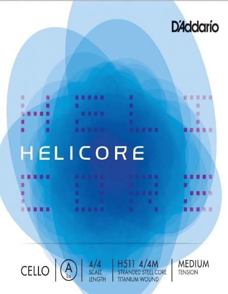 Cordes pour Violoncelle HELICORE™ - LA D'ADDARIO CELLO CABLE 4/4 HELICORE ™ - MEDIUM Tie - Accessoire - di-arezzo.com