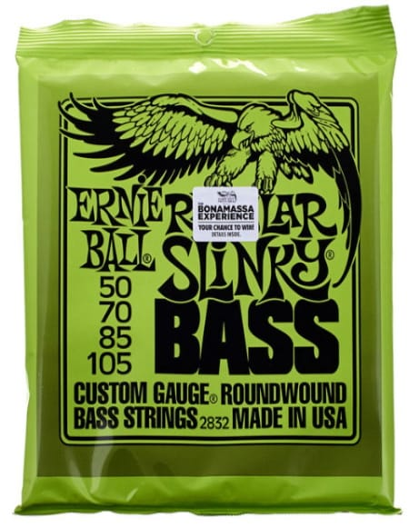Cordes pour Guitare - Strings Ernie Ball 2832 Bass Guitar Regular slinky 50-70-85-105 - Accessoire - di-arezzo.co.uk