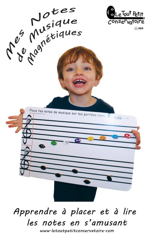 Accessoire - My magnetic music notes - Papier - di-arezzo.co.uk