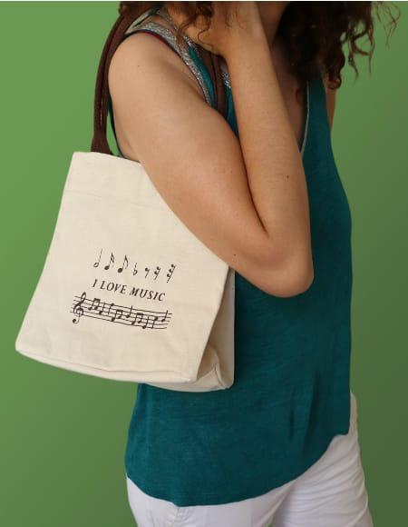 Cadeaux - Musique - Handbag - I love Music - Accessoire - di-arezzo.com