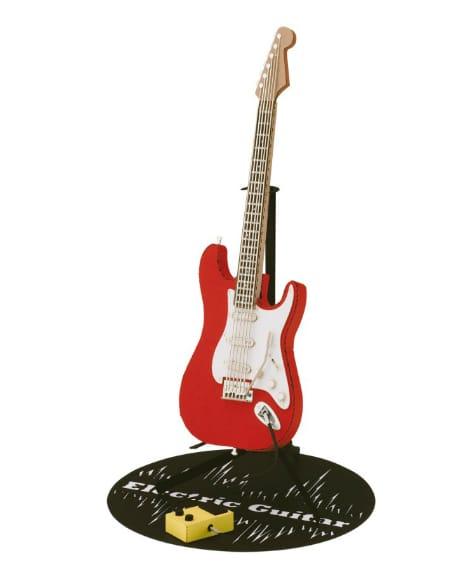 Jeu de construction pour enfant - PAPERNANO Red Electric Guitar - Accessoire - di-arezzo.co.uk