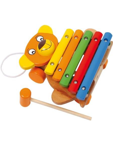Xylophone Ours - Jeu musical pour enfant - laflutedepan.com