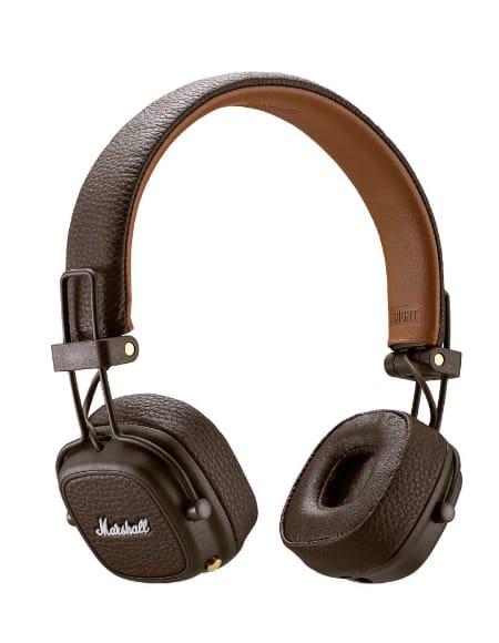Casque Bluetooth Marshall Major 3 Marron - laflutedepan.com