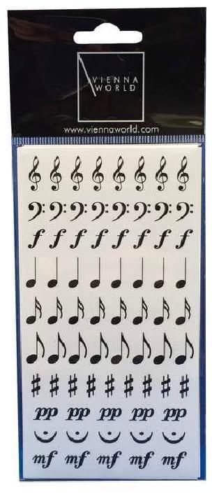 Cadeaux - Musique - Pegatinas de símbolos musicales - Accessoire - di-arezzo.es