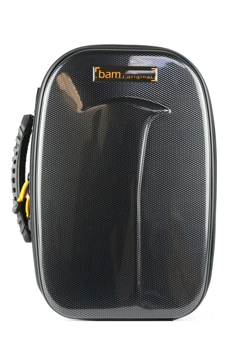 Etui BAM 1 Clarinette Sib New Trekking Noir carbone - laflutedepan.com