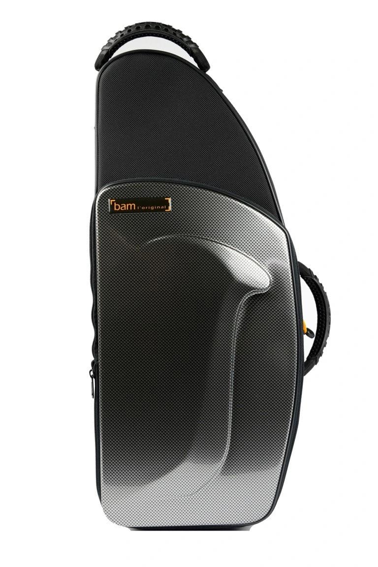 Etui BAM Saxophone Alto New Trekking Silver Carbone - laflutedepan.com
