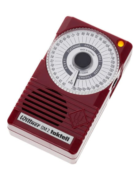 Métronome Electronique - Wittner Taktell Metronome Quartz QM2 Ruby Red - Accessoire - di-arezzo.co.uk