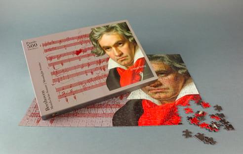 Jeu Musical - Beethoven puzzle - Accessoire - di-arezzo.com