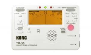 Accordeur & Métronome - TM-50 WHITE KORG - Metronome and Tuner - Accessoire - di-arezzo.co.uk
