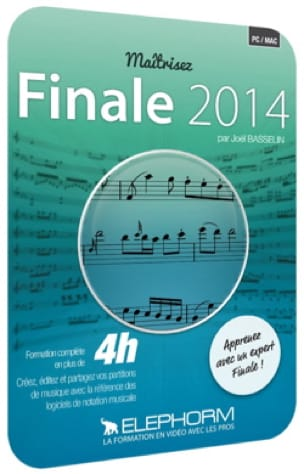 Logiciel - DVD Training FINALE 2014 - Accessoire - di-arezzo.co.uk