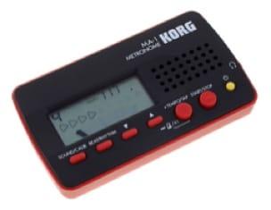 Métronome Electronique - Métronome KORG - MA-1 ROUGE - Accessoire - di-arezzo.fr