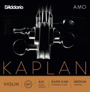 JEU de cordes KAPLAN™ AMO pour VIOLON - Tirant MOYEN - laflutedepan.com