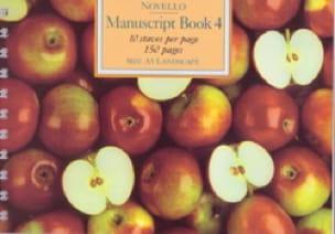 Cahier de Musique - Libro de manuscritos 4 - Papier - di-arezzo.es