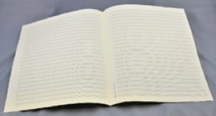 Papier à Musique - Music Paper - 18 Spans - Jesus Format - Papier - di-arezzo.com