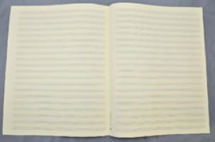 Papier à Musique - Music Paper - 20 Spans - Jesus Format - Papier - di-arezzo.com