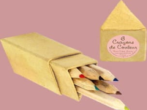 Papeterie Musicale - Little colored pencils triangle case - Accessoire - di-arezzo.co.uk