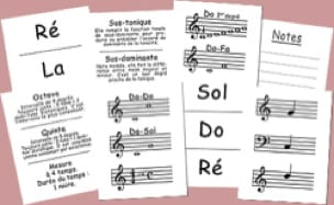 Jeu musical pour enfant - I'm learning music notes - Accessoire - di-arezzo.co.uk