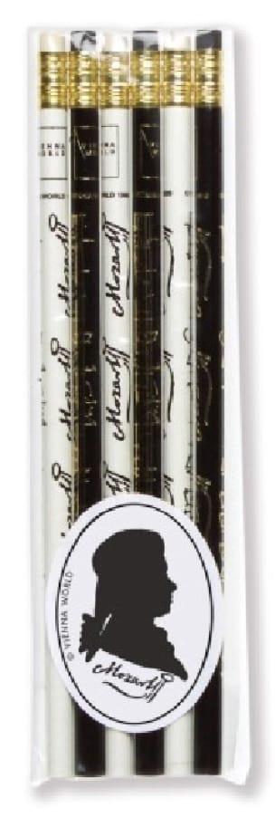Cadeaux - Musique - Set of 6 pencils - MOZART - Accessoire - di-arezzo.com