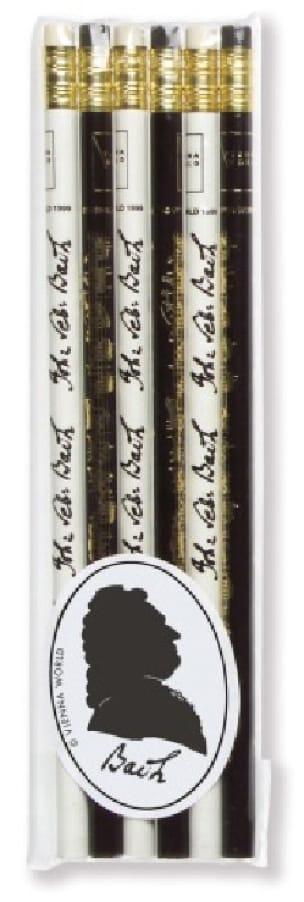 Cadeaux - Musique - Set of 6 pencils - BACH - Accessoire - di-arezzo.com