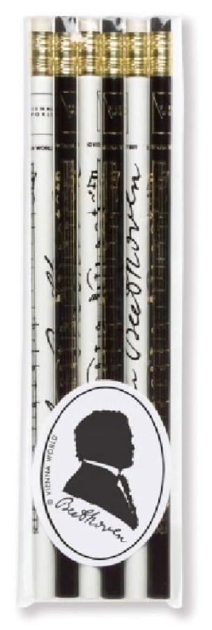 Cadeaux - Musique - Set of 6 pencils - BEETHOVEN - Accessoire - di-arezzo.com