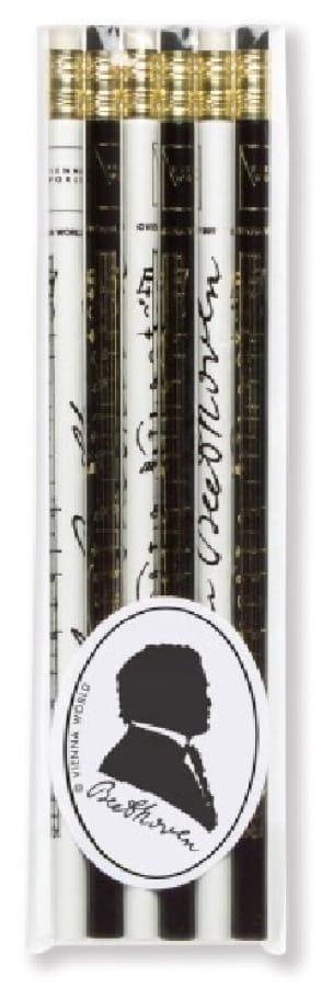 Cadeaux - Musique - Juego de 6 lápices - BEETHOVEN - Accessoire - di-arezzo.es