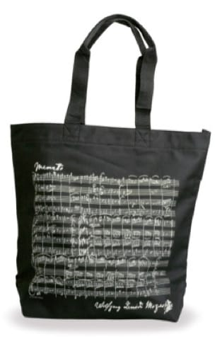 Cadeaux - Musique - Shopping Bag - BLACK - MOZART - Accessoire - di-arezzo.co.uk