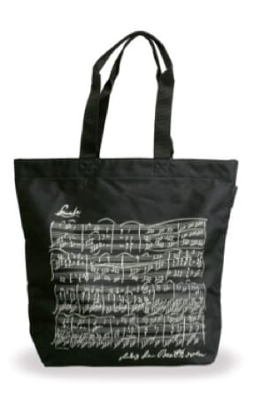 Cadeaux - Musique - Bolsa de compras - NEGRO - BEETHOVEN - Accessoire - di-arezzo.es