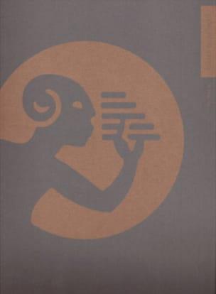 16 Portées avec spirale vert avec logo 27 X 34 cm - laflutedepan.com