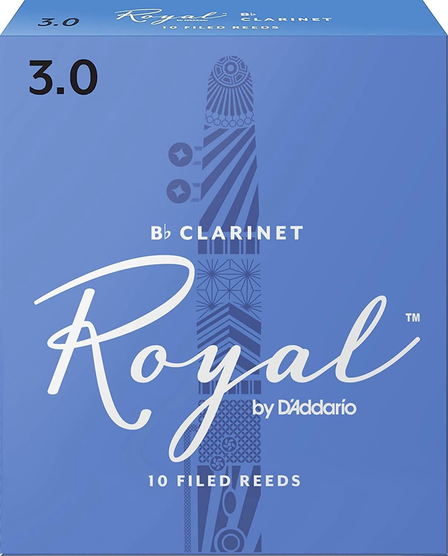 Anches pour Clarinette Sib RICO® - D'Addario Rico Royal - Bb Clarinet Reeds 3.0 - Accessoire - di-arezzo.com