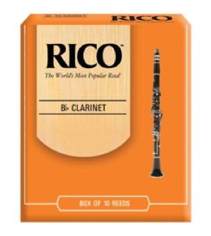 Anches pour Clarinette Sib RICO® - D'Addario Rico - Clarinet reeds sib 2.5 - Accessoire - di-arezzo.com
