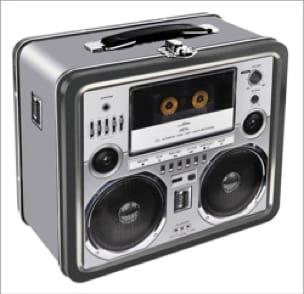 Boite de rangement - BOOMBOX - Jeu Musical - laflutedepan.com