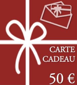 BON CADEAU - CARTE CADEAU - Valeur de 50 € - laflutedepan.com